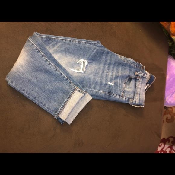 Pants - Cap Capri jeans